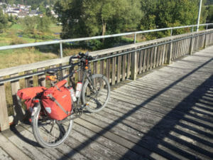 Arnsberg-Oeventrop - Brücke - Ruhrtalradweg