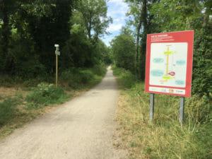 Canal du Rhône au Rhin - Radweg Artzenheim - Straßburg