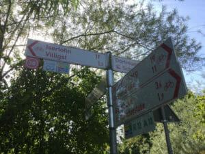 Schwerte - Wegweiser - Ruhrtalradweg