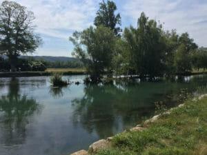 Canal de Huningue - Kembs - Véloroute Rhin