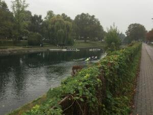 Der französische Rheinradweg am Canal du Rhône au Rhin