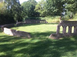 Kolosseum Arnsberg - Römer-Ruine - Kinder - Ruhrtalradweg