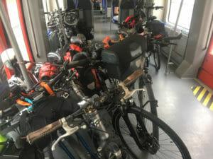 Fahrradabteil - Sauerland-Express nach Winterberg