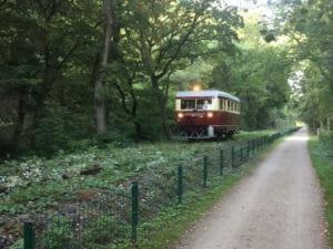 Ruhrtalbahn bei Witten-Bommern - Eisenbahnromantik - Ruhrtalradweg