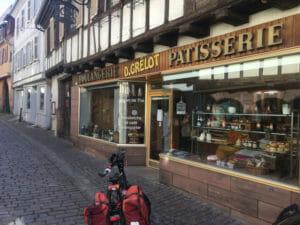 Bäckerei und Konditorei in Barr - Elsass - Radtour