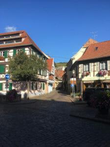 Barr - Fachwerkhäuser - Radweg der elsässischen Weinstraße