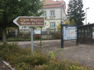 Museum über die Maginotlinie - Hatten - Radweg an der Maginot-Linie im Elsass