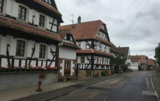 Hunspach - Radweg an der Maginot-Linie im Elsass