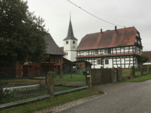 Kauffenheim - Radweg an der Maginot-Linie im Elsass