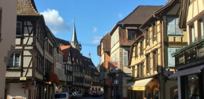 Obernai - Radweg der elsässischen Weinstraße