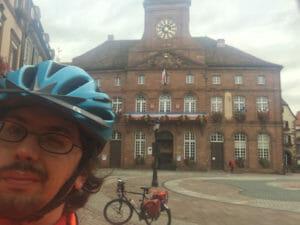 Wissembourg Rathaus - Grenze Rheinland-Pfalz