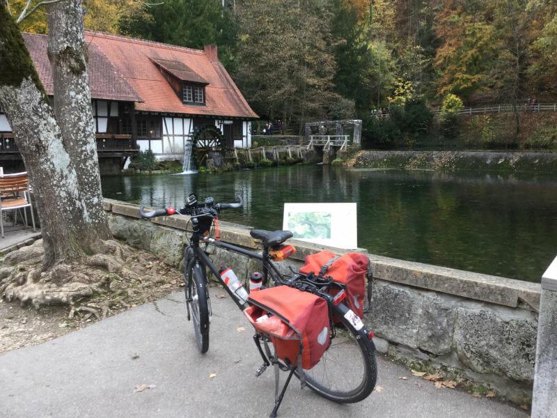 Blautopf - Blaustein - Alb-Neckar-Radweg