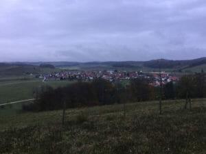 Donnstetten - Albtäler Radweg - Alb-Neckar-Radweg - Blick von weitem