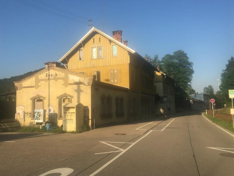 Bahnhof Eyach - Neckartal - Radtour