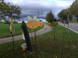 Bienen - Remstal-Gartenschau - Alb-Neckar-Radweg