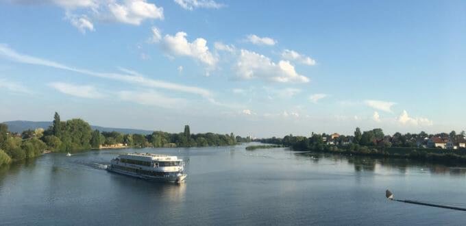 Ladenburg - Neckar - Neckarradweg