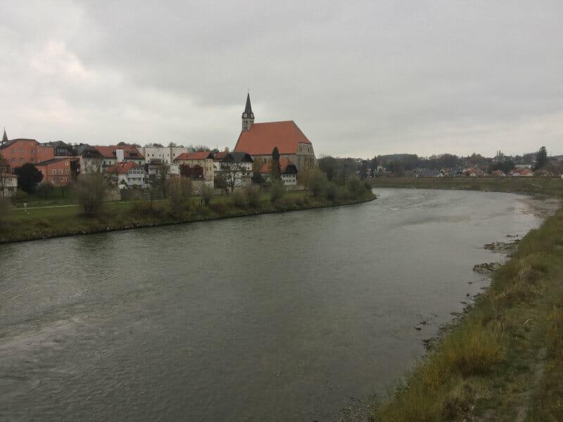 Oberndorf bei Salzburg - Bajuwarenradweg