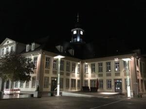 Rathaus Göppingen - Nacht - Alb-Neckar-Radweg