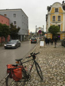 Von Oberndorf bei Salzburg nach Laufen - Salzachbrücke