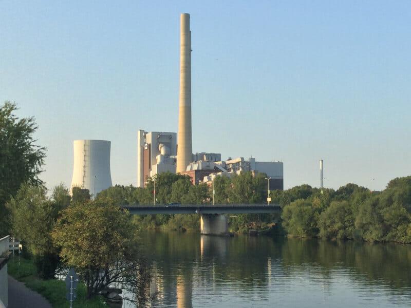 Neckarsulm - Steinkohlekraftwerk am Neckar - Radtour