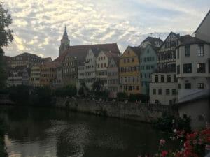 Altstadt Tübingen Neckarfront - Neckarradweg
