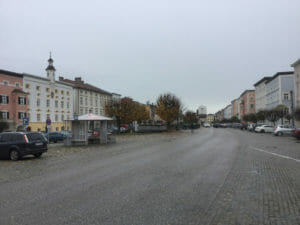 Innenstadt von Tittmoning - Bajuwarenradweg