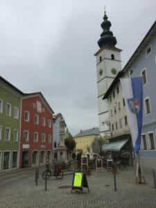 Waging am See - bunte Innenstadt - Bajuwarentour