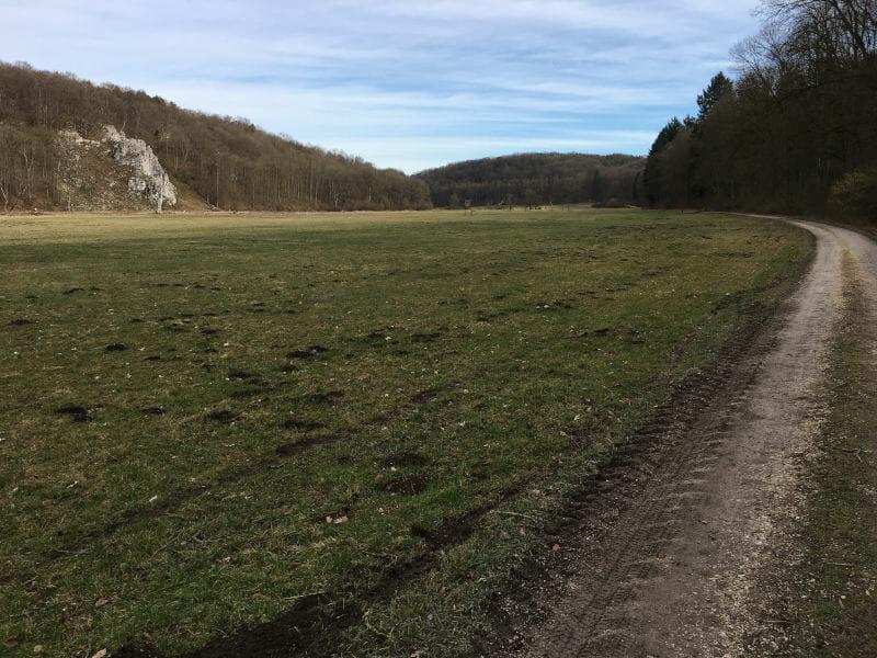 Brenztalradweg - Hohenlohe-Ostalbradweg - Schlamm