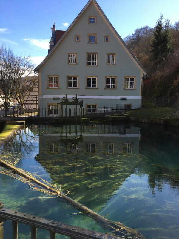Brenzquelle - Brenztopf in Königsbronn an der Brenz