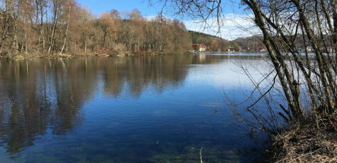 Königsbronn - Itzelberger See - Brenz - Hohenlohe-Ostalb-Radweg