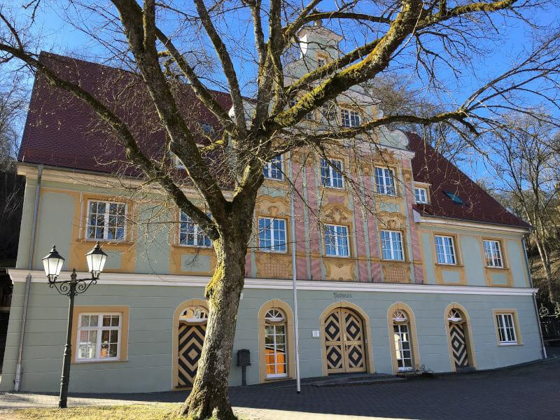 Königsbronn - Rathaus - Hohenlohe-Ostalb-Radweg