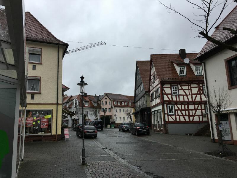 Walldürn Innenstadt - Odenwald-Madonnen-Radweg
