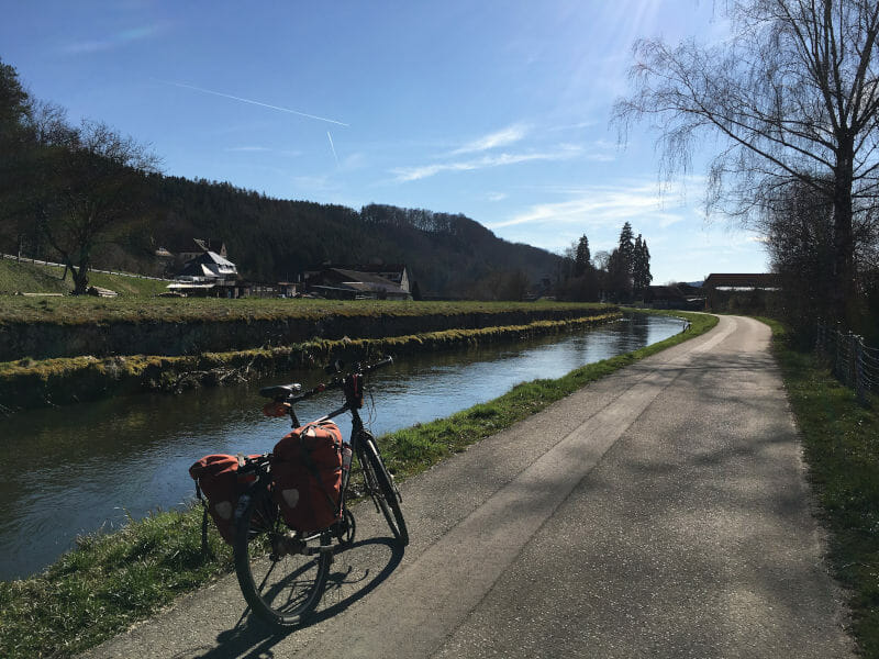 Eggingen - Gutach - Schwarzwald-Panorama-Radweg Erfahrungsbericht