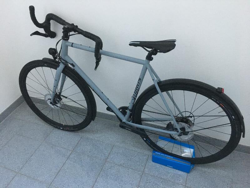 Gravel-Bike PURE BROS gerade angekommen