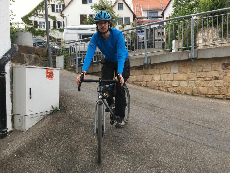 Gravel-Bike und ich