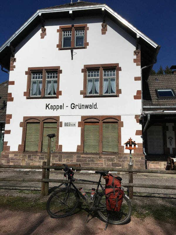 Bahntrassenradweg Lenzkirch - Bahnhof Kappel-Grünwald - Schwarzwald-Panorama-Radweg Erfahrungsbericht