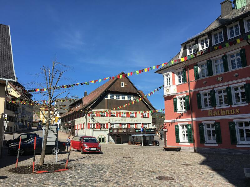 Lenzkirch im Schwarzwald - Schwarzwald-Radweg