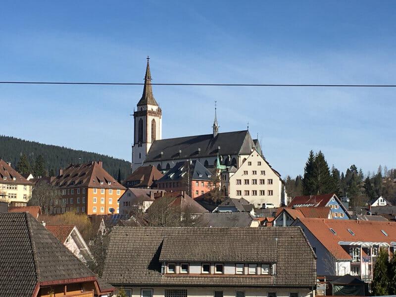 Kirche von Titisee-Neustadt am Schwarzwald-Panorama-Radweg