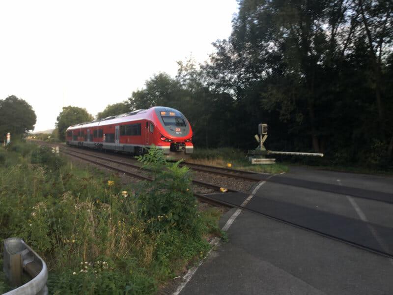 Ruhrtalradweg - Zug