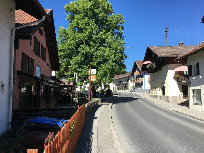 Bad Kohlgrub am Bodensee-Königssee-Radweg