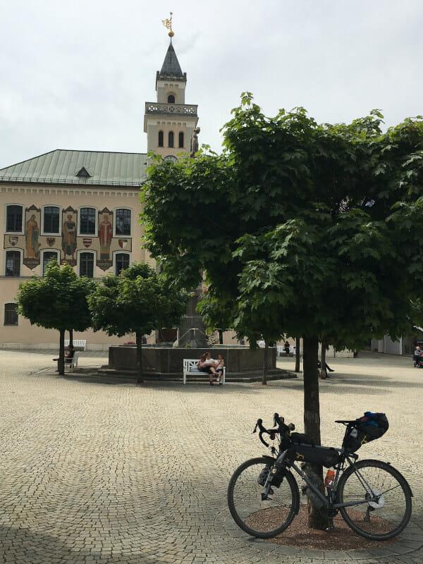 Bad Reichenhall Rathaus - Bodensee-Königssee-Radweg