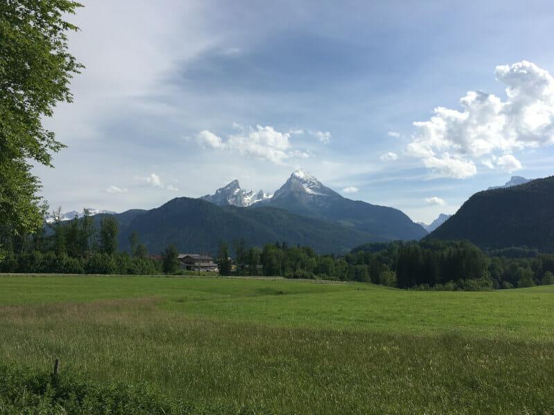 Watzmann - Berchtesgadener Land - Bodensee-Königssee-Radweg