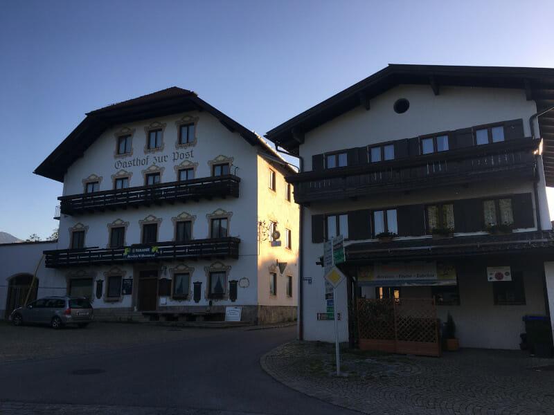 Bergen Gasthäuser - Start Etappe - Bodensee-Königssee-Radweg