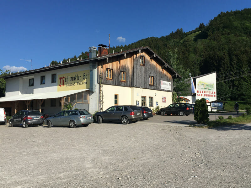 Hochfellnseilbahn - Mühlwinkler Hof in Bergen in Bayern Radtour