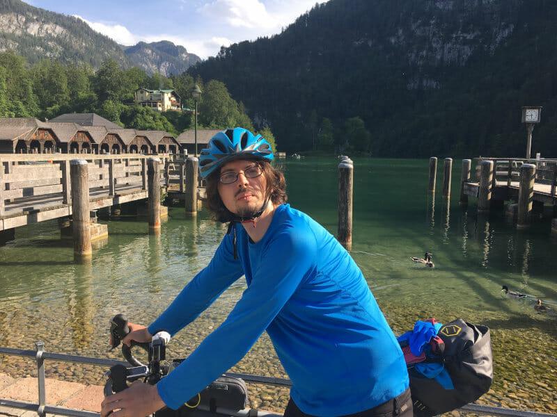 Am Königssee in Schönau am Königssee mit Fahrrad