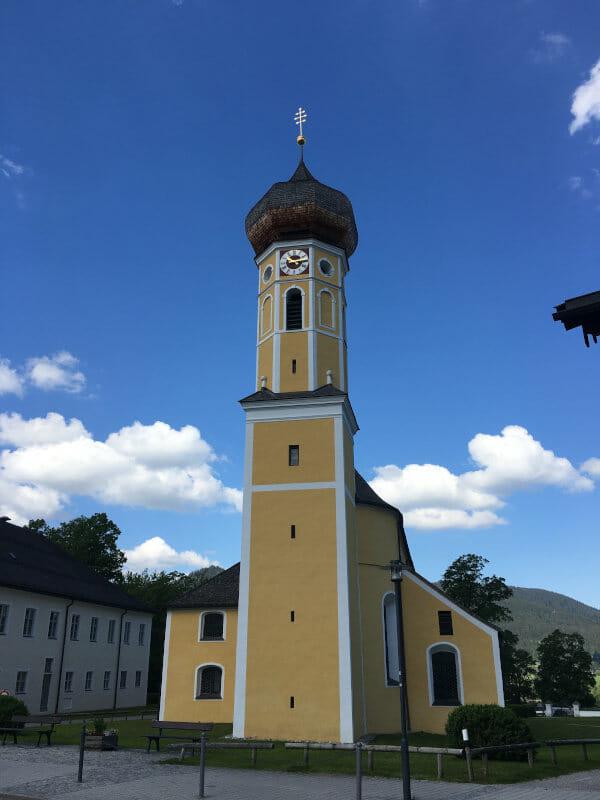 Kirche Fischbachaus am Bodensee-Königssee-Radweg