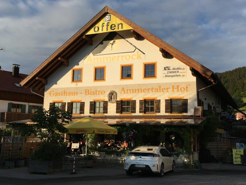 Ammerrock - Ammertaler Hof - Saulgrub - Bodensee-Königssee-Radweg