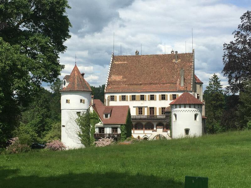 Schloss Syrgenstein bei Eglofs und Heimenkirch - Gemarkung Bayern