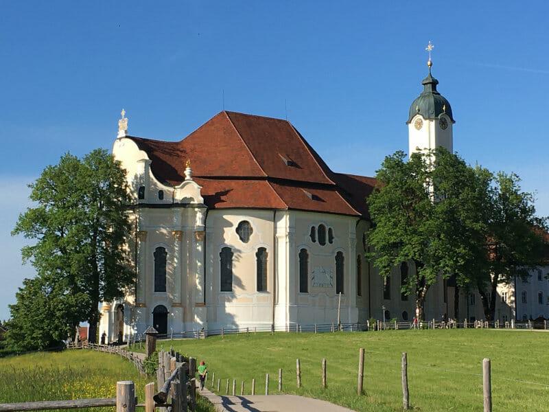 Steingaden Wieskirche - Bodensee-Königssee-Radweg