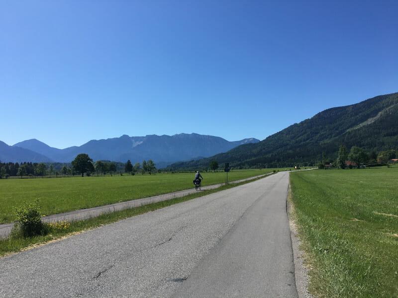 Murnauer Moos - Alpenblick - Bodensee-Königssee-Radweg